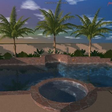 SoCal Custom Pools and Spas 3D