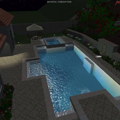 SoCal Custom Pools and Spas 3D