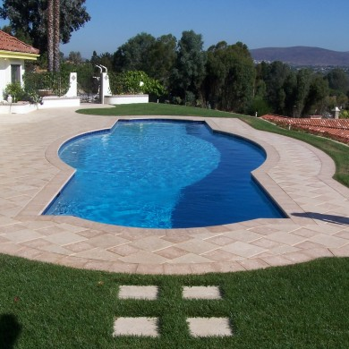 Remodeled pool - Swimming Pool Builders San Diego