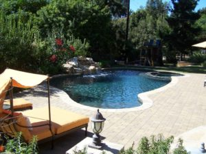 remodeled pool - pool contractor san diego