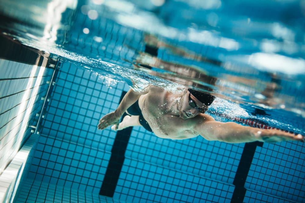 How do I tone my body in my swimming pool?