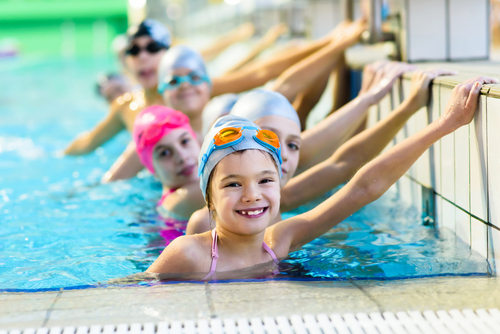 How do I use my swimming pool to lose weight?